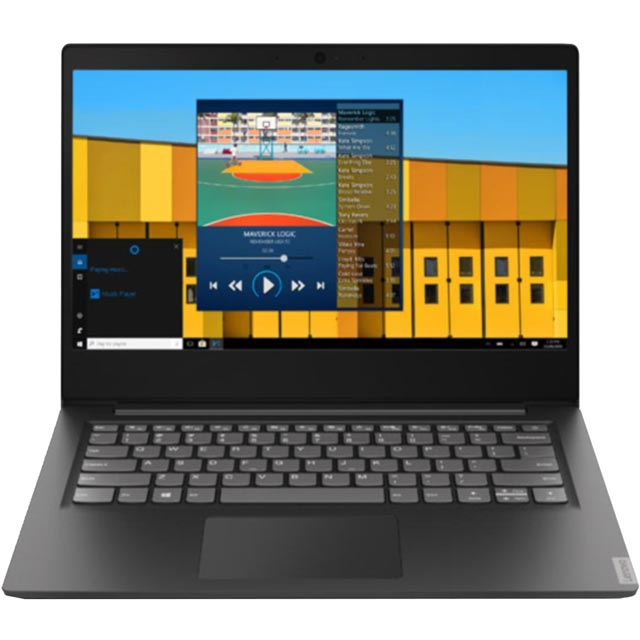 "Lenovo IdeaPad S145-14IWL 14"" Laptop - Black - 81MU003VUK - 1"
