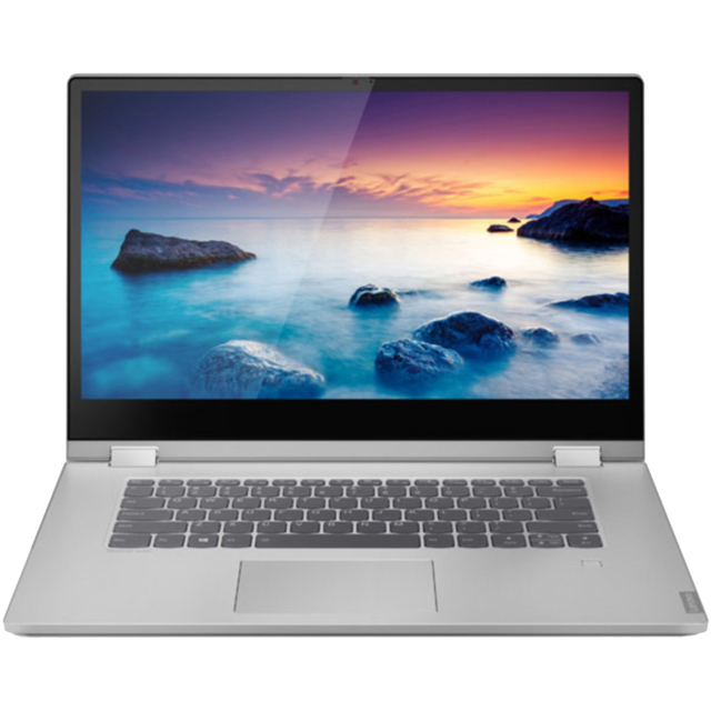 "Lenovo IdeaPad C340-15IWL 15.6"" 2-in-1 Chromebook - Platinum - 81N50059UK - 1"