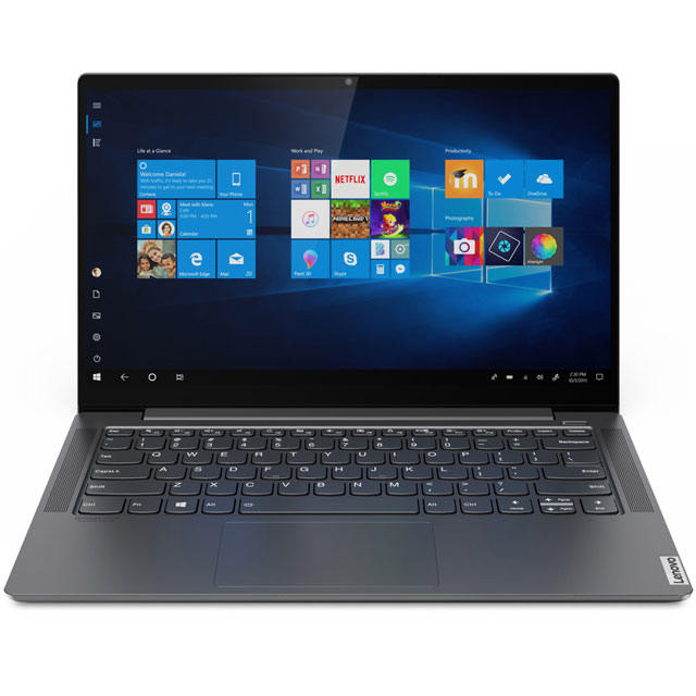 "Lenovo Yoga S740-14IIL 14"" 2-in-1 Laptop - Grey - 81RS000PUK - 1"