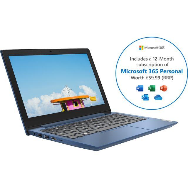 "Lenovo IdeaPad 1 11.6"" Laptop - Blue"