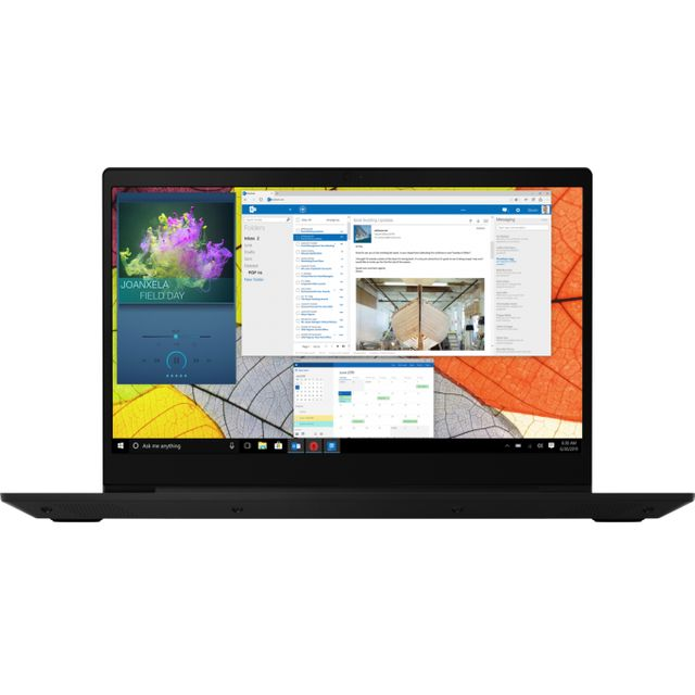 "Lenovo IdeaPad S145 15.6"" Laptop - Black"