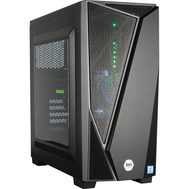Image of 3XS Gaming Desktop in Black