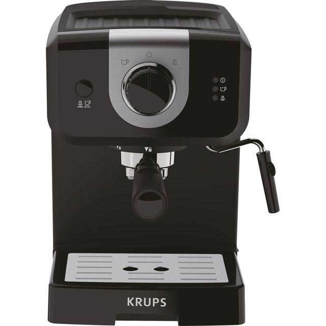 Krups Opio Steam and Pump XP320840 Espresso Coffee Machine - Black