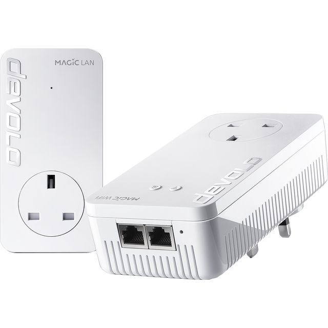 Devolo Magic 1 WiFi Starter Kit 8361 Routers & Networking in White