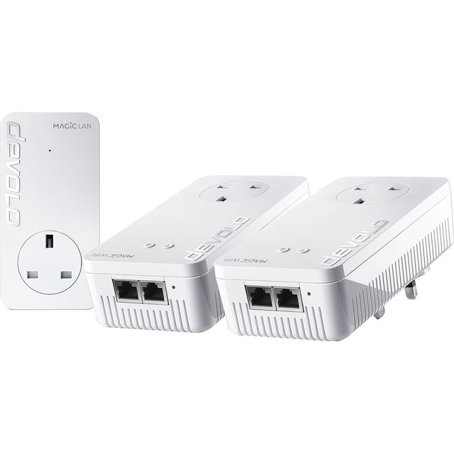 Devolo Magic 1 WiFi  - Whole Home WiFi Kit 8369 Routers & Networking in White