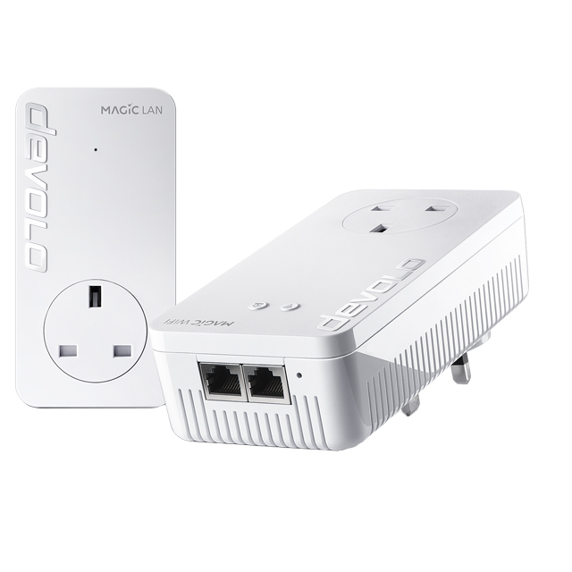 Devolo Magic 2 WiFi Starter Kit 8385 Routers & Networking in White