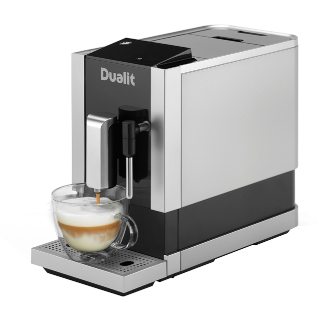 Dualit Bean To Go 85172 Bean to Cup Coffee Machine - Silver / Black - 85172_SBK - 1