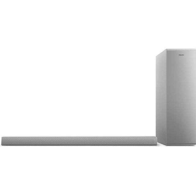 Philips TAB6405/10 Bluetooth 2.1 Soundbar - Silver