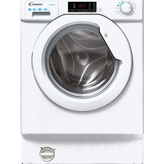 Candy CBW47D1E Built In Washing Machine - White - CBW47D1E_WH - 1