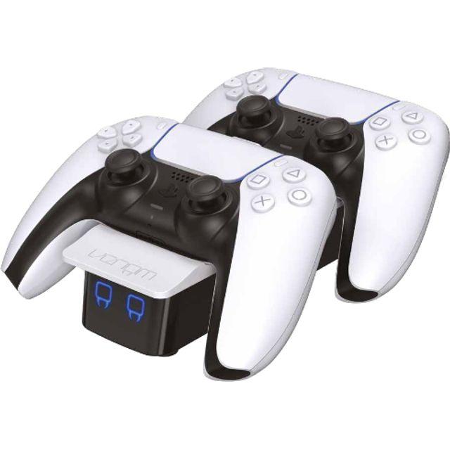 Venom Twin Docking Station for PlayStation 5 - Black / White