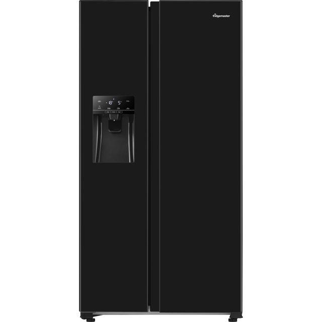 Fridgemaster MS91500IFB American Fridge Freezer - Black - A+ Rated