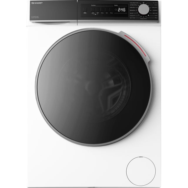 Sharp ES-NDB8144WD-EN 8Kg / 6Kg Washer Dryer with 1400 rpm - White - E Rated