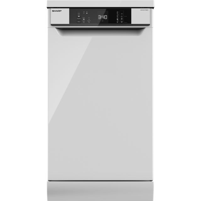 Sharp QW-NS1CF49EW-EN Slimline Dishwasher