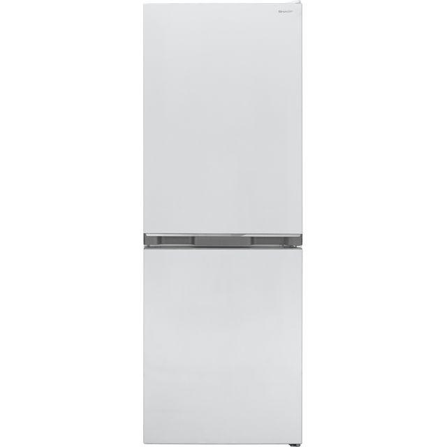 Sharp SJ-BB02DTXWF-EN 50/50 Fridge Freezer - White - F Rated