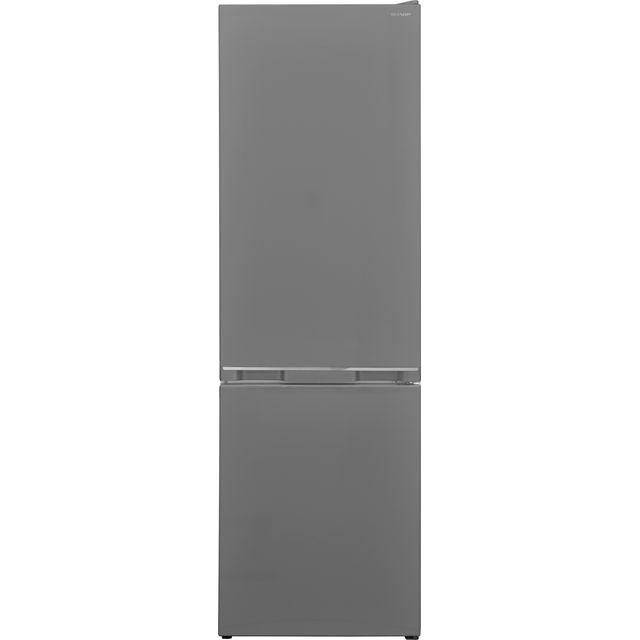 Sharp SJ-BB04DTXSF-EN 60/40 Fridge Freezer - Silver - F Rated