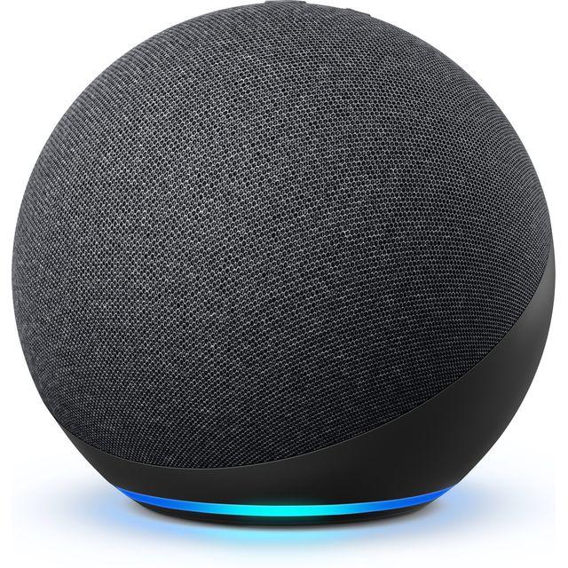 Image of Amazon Echo (4th Gen) Smart Speaker with Amazon Alexa - Charcoal
