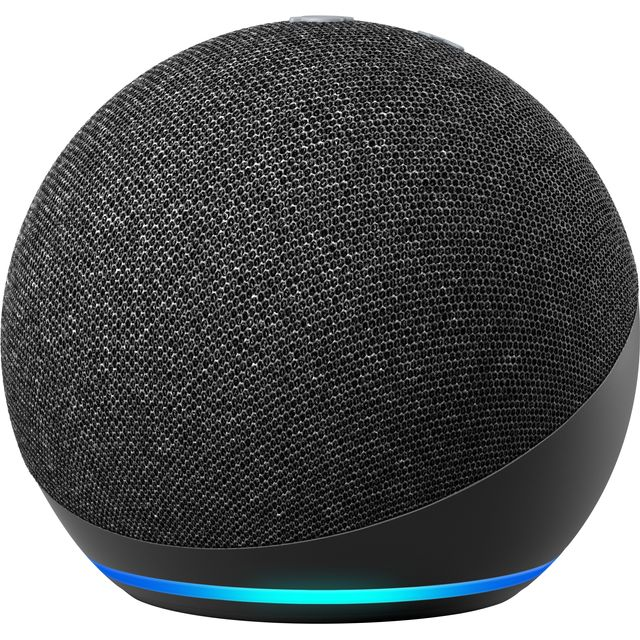 Amazon Echo Dot (4th Gen) Smart Speaker with Amazon Alexa - Charcoal