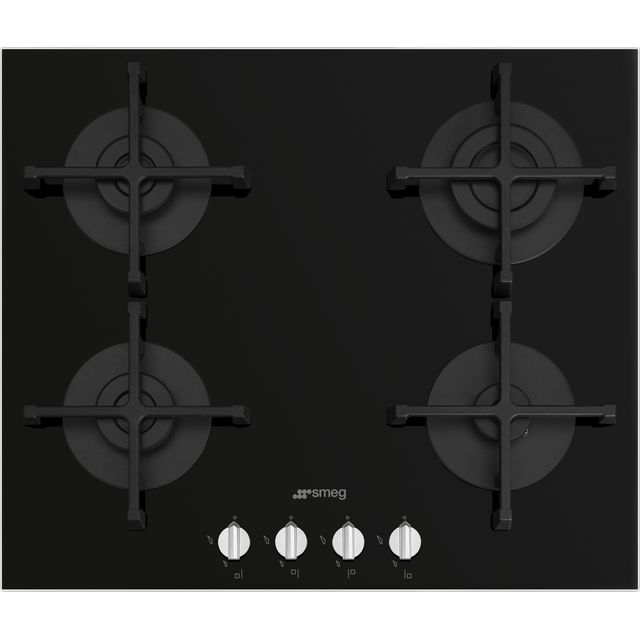 Smeg Piano Design PV264N 60cm Gas Hob – Black