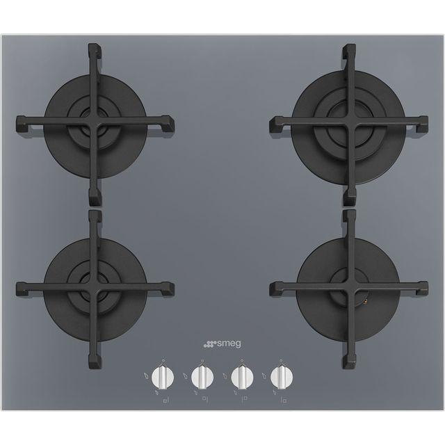 Smeg Piano Design PV264S 60cm Gas Hob – Silver