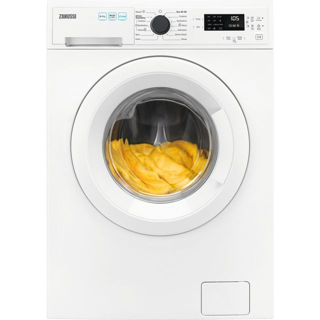 Zanussi ZWD86SB4PW 8Kg / 4Kg Washer Dryer with 1600 rpm - White - A Rated