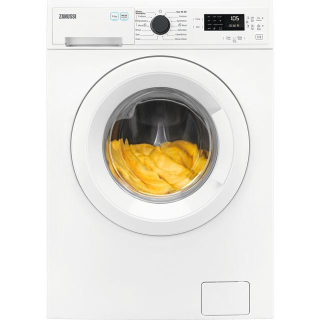 Zanussi ZWD76NB4PW 7Kg / 5Kg Washer Dryer with 1600 rpm - White - A Rated
