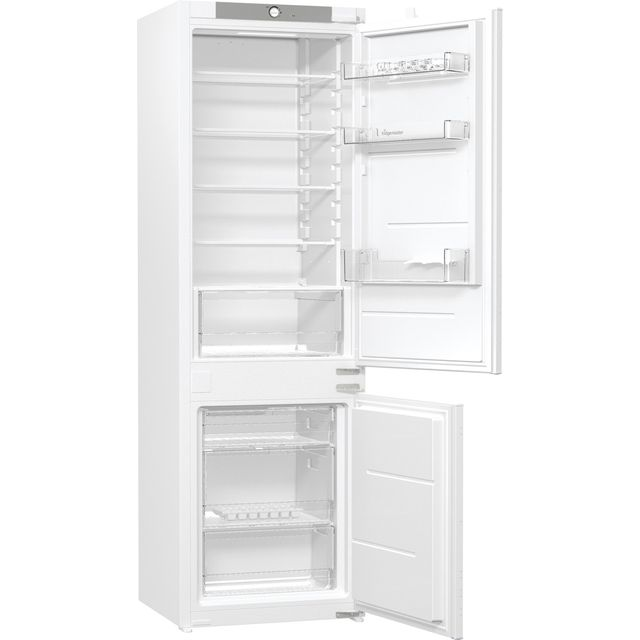 Fridgemaster MBC54260F Integrated 70/30 Fridge Freezer with Sliding Door Fixing Kit - White - F Rated - MBC54260F_WH - 1