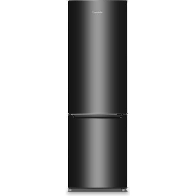 Fridgemaster MC55264AFB 70/30 Fridge Freezer - Black - F Rated