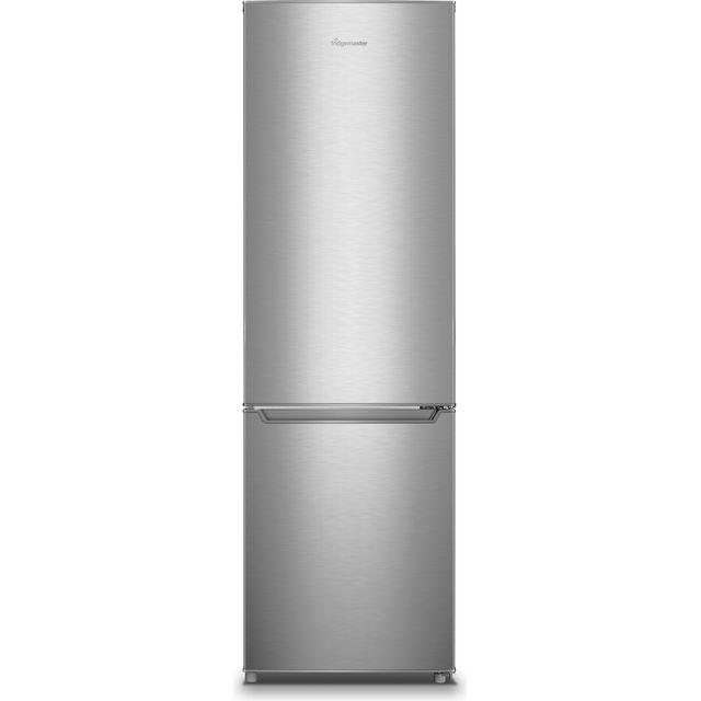 Image of Fridgemaster MC55264AFS 70/30 Fridge Freezer - Silver - A+ Rated