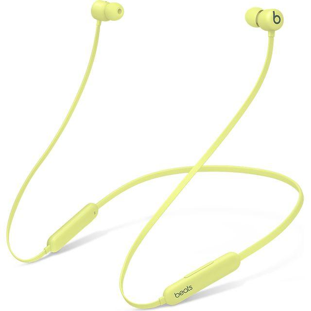 Image of Beats Flex In-ear,Neck-band Bluetooth Headphones - Yellow