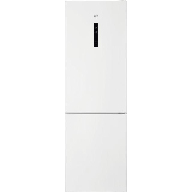 Image of AEG RCB732E5MW 60/40 Frost Free Fridge Freezer - White - A++ Rated