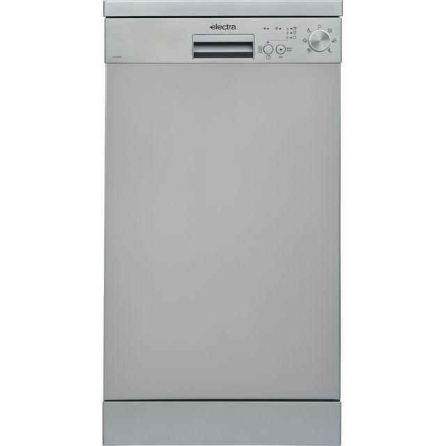 Electra C1745SE Slimline Dishwasher - Silver - E Rated
