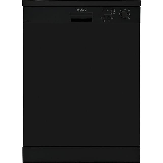 Electra C1760BE Standard Dishwasher - Black - E Rated