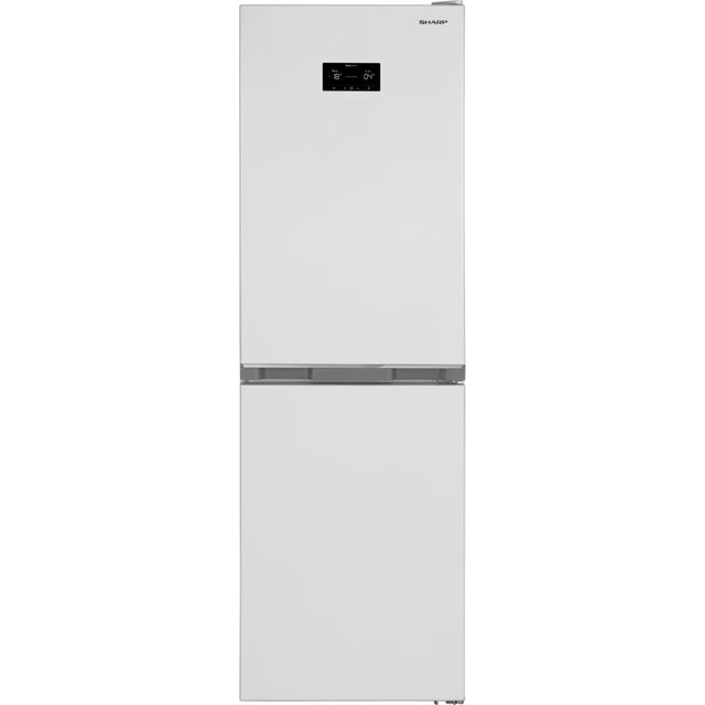 Sharp SJ-BA33DHXWE-EN 50/50 Frost Free Fridge Freezer - White - E Rated