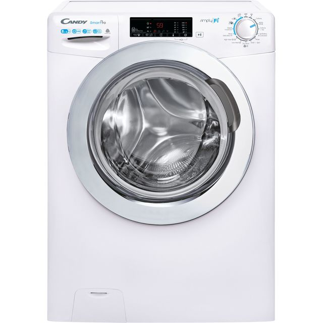 Candy Smart Pro CSOW4853TWCE Wifi Connected 8Kg / 5Kg Washer Dryer with 1400 rpm - White - E Rated