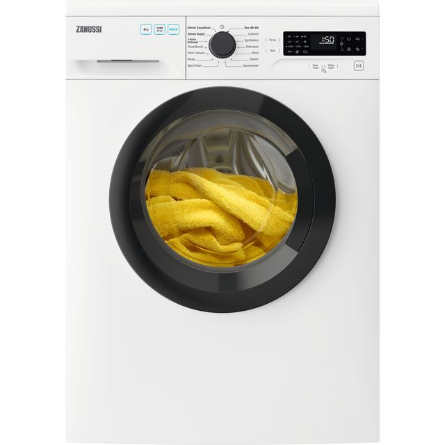 Zanussi ZWF845B4DG Washing Machine with 1400 rpm - White - A+++ Rated