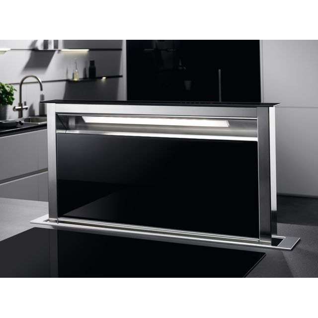 Image of AEG DDE5980G Downdraft cooker hood Cooker Hood - Black - A Rated