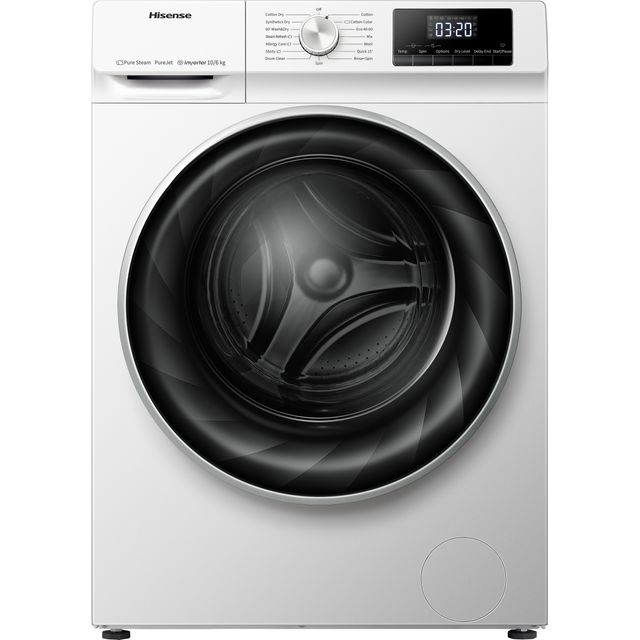 Hisense WDQY1014EVJM / 6Kg Washer Dryer with 1400 rpm