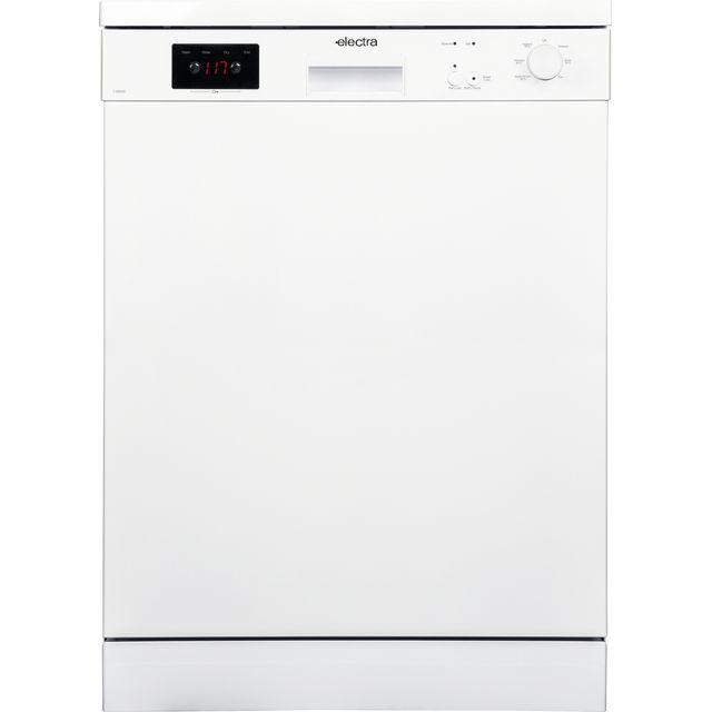 Electra C1860WE Standard Dishwasher - White - E Rated