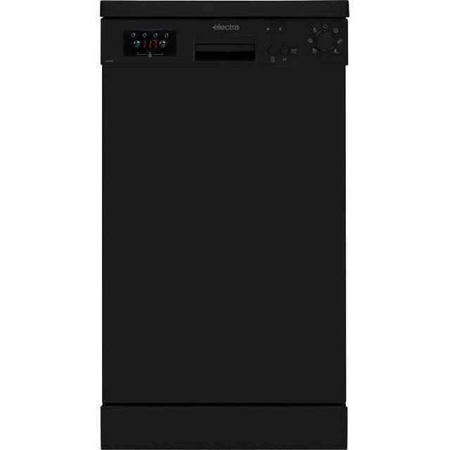 Electra C1845BE Slimline Dishwasher - Black - E Rated