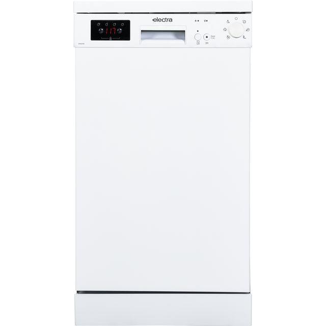 Electra C1845WE Slimline Dishwasher - White - E Rated
