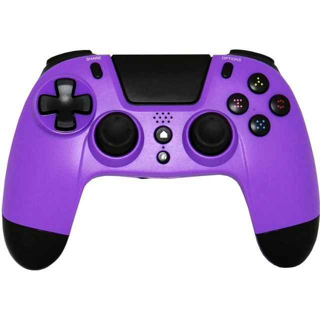 Image of Gioteck VX-4 Wireless Gaming Controller - Purple