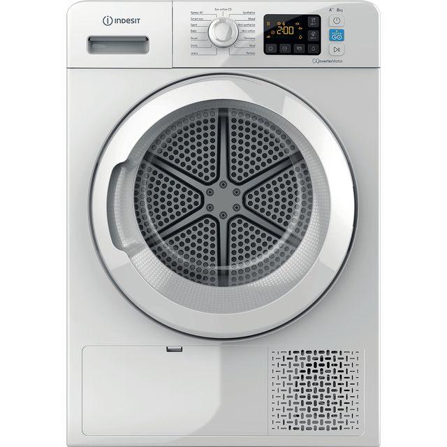 Indesit YTM1182XUK 8Kg Heat Pump Tumble Dryer - White - A++ Rated