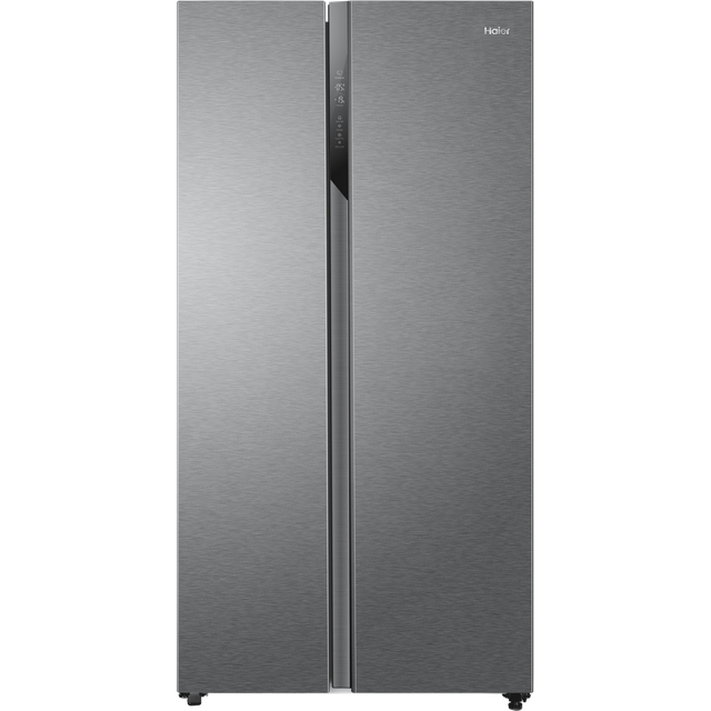 Haier HSR3918ENPG American Fridge Freezer - Silver - A++ Rated
