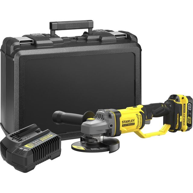 Stanley Fatmax SFMCG400D1K-GB 18 Volts Angle Grinder