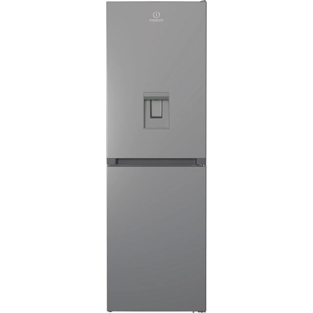 Indesit INFC850TI1SAQUA1 50/50 Frost Free Fridge Freezer - Silver - F Rated