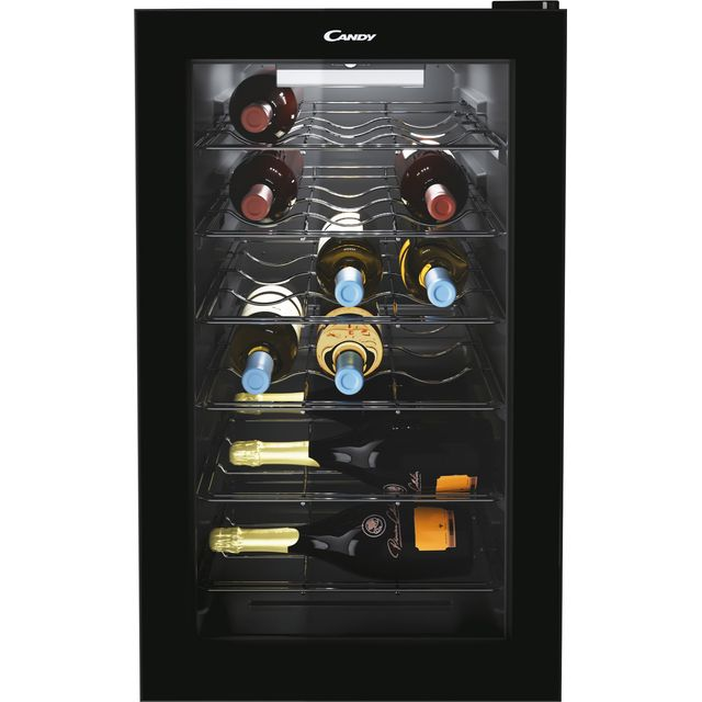 Candy DiVino CWC021M/N Wine Cooler - Black
