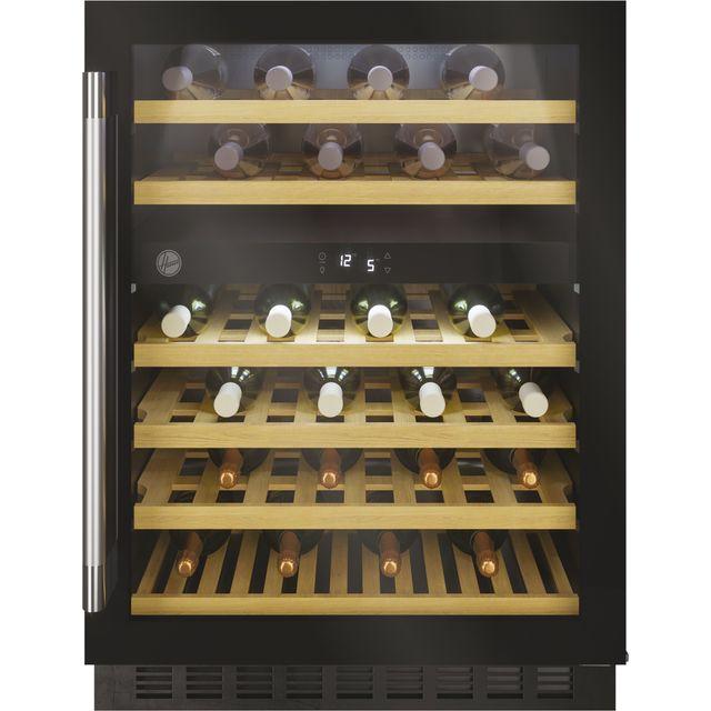 Hoover HWCB60DUKBM/N Built In Wine Cooler - Black - G Rated