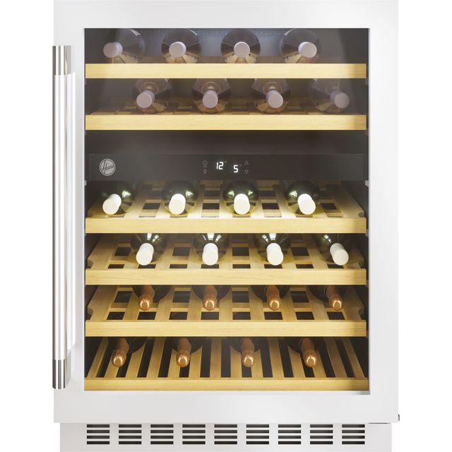 Hoover HWCB60DUKSSM/N Built In Wine Cooler - Stainless Steel - G Rated