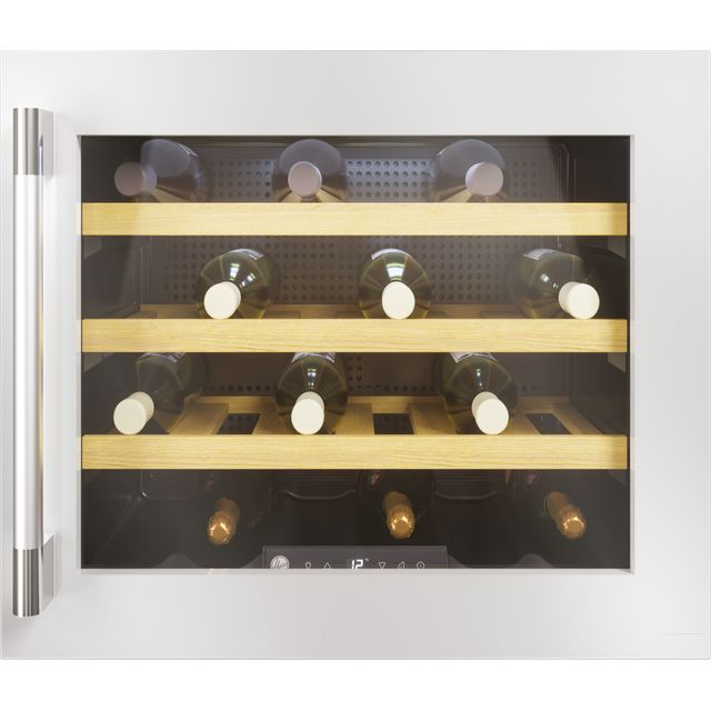 Hoover HWCB45UKSSM/1 Built In Wine Cooler - Stainless Steel - F Rated