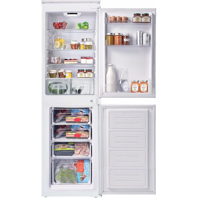 Candy BCBS50NUK Integrated Fridge Freezer with Sliding Door Fixing Kit - White - F Rated